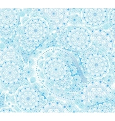 seamless pattern in Eastern style Colorful vector image