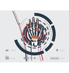 handave vector image