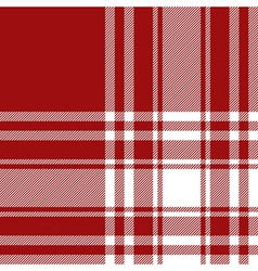 Menzies tartan red kilt fabric texture seamless vector