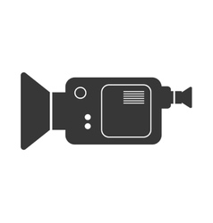 Videocamera icon movie design graphic vector