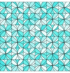 Floral Mosaic Pattern vector image vector image