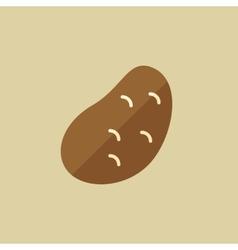Potato Food Flat Icon vector image