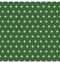 Royal lily pattern vector image