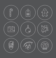 Xmas Icons vector image