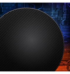 round banner vector image