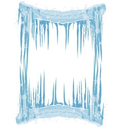 Ice frame vector