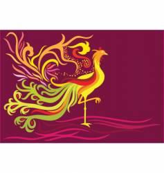 Fantasy phoenix vector