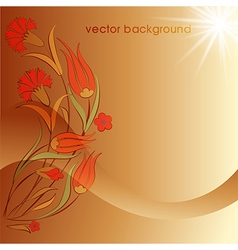 decorative cover template fifty eight vector image