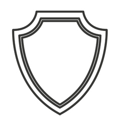 Security shield isolated icon design vector
