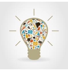 Art a bulb vector