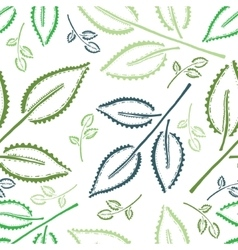 Seamless Pattern in Ethnic Style vector image