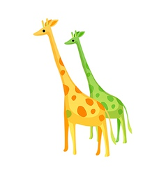 Icon giraffe vector