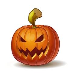 Pumpkins scary 4 vector