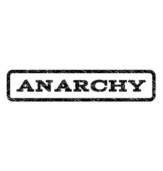 Anarchy watermark stamp vector