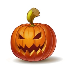 Pumpkins scary 4 vector