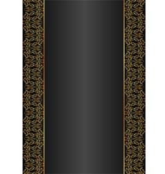 Black background vector