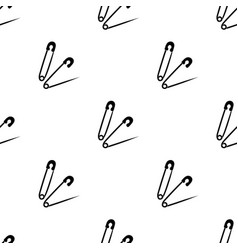 pins for sewingsewing or tailoring tools kit vector image