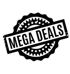 Mega deals rubber stamp vector