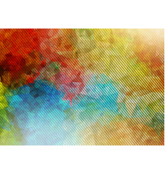 Abstract 2d triangle background with oblique lines vector