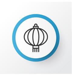 Chinese lantern icon symbol premium quality vector