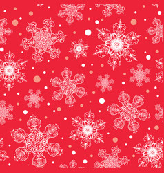 Holiday white red hand drawn christmass vector