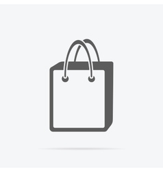 Simple Shopping Bag Icon vector image vector image