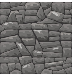 Grey stone seamless pattern vector