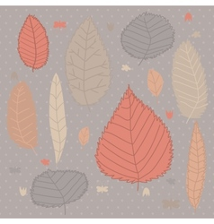 Autumn design background vector