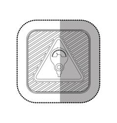 Parking meter system vector image