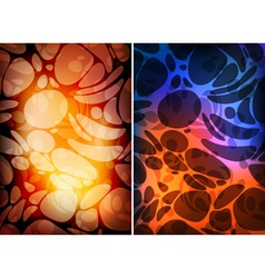 colorful patterns vector image