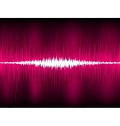 Abstract purple waveform vector image