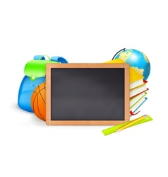 Back to School baner vector image