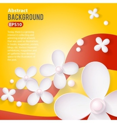 Abstract 3d paper background vector