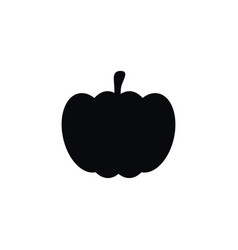 Isolated pumpkin icon gourd element can be vector