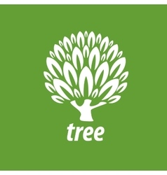 logo tree vector image
