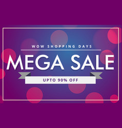 Sale discount voucher template in modern style vector