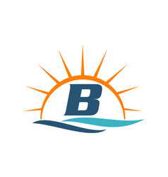 Wave sunset initial b vector