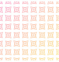Colorful geometric shapes pattern background vector