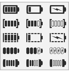 Indicators of a Battery vector image vector image