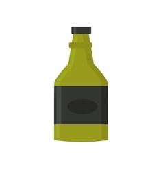 Retro whiskey bar drink bottle vector