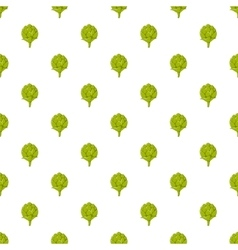 Seeds hops pattern cartoon style vector