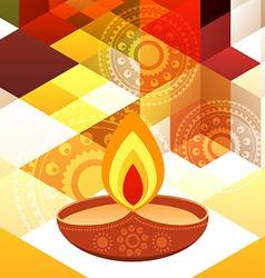 Beautiful diwali background vector