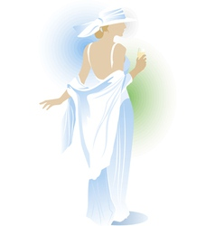 beauty woman vector image vector image