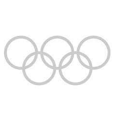 Company logo of the ring vector