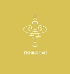 Fishing gear vector