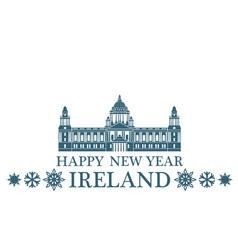 Greeting Card Ireland vector image