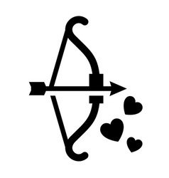 romantic love symbol vector image