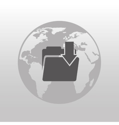 trade applications isolated icon design vector image