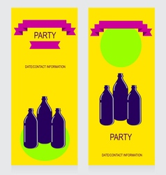 0615 7 three bottles v vector