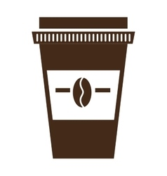 Fresh and natural coffee graphic design vector